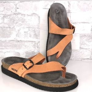 Mephisto Leather Sandals 41 Helen Comfort Shoes
